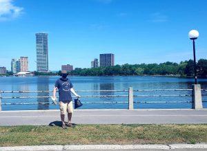 Cooper at Dow's Lake
